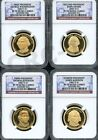2007 S PRESIDENTIAL DOLLAR SET NGC PF70 ULTRA CAMEO