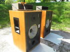 ROGERS BBC LS5/8 MONITOR SPEAKERS with QUAD AM8/16 AMPLIFIERS +cables  AWESOME !