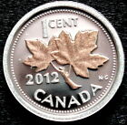 Canada 2012 RARE PENNY .9999 SILVER & 24K  ROSE GOLD