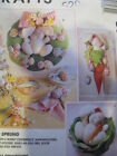 MCCALLS CRAFTS 8085 PATTERN EASTER BUNNY CENTERPIECE EGG TREE WREATH NAPKINHOLDR
