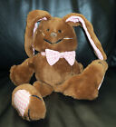 Vintage Dakin Brown Harlan Hare Rabbit Trix Bunny 1983 Gingham Ears