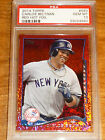 2014 Topps Carlos Beltran Red Hot Foil #593 Yankees PSA 10 GEM MINT Pop 1