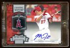 MIKE TROUT 2013 TOPPS CERTIFIED AUTO AUTOGRAPH SP CHASING HISTORY 30-40 CLUB HOT