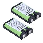 2x 800mAh Cordless Phone Battery for Panasonic HHR P107 HHR P107A 1B HHRP107A 1B