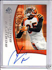 2005 SP Authentic Scripts For Success Auto Chad Johnson