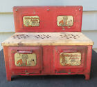 Antique 1930's  ~Little Orphan Annie Electric Toy Play tin Stove  ~by LOUIS MARX