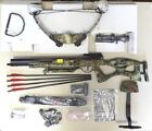 PSE Enigma 150lbs Package Mossy Oak Infinity Camo 4x32 Scope Quiver and Bolts RR