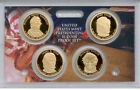 2009-s PRESIDENTIAL PROOF GOLDEN DOLLARS   4 CAMEO COINS  #912a
