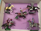 JoeSoldiers 54mm 1:32 100 Years War Mounted French Knights