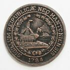 Rare! Antique NEW HAMPSHIRE Token, 1784, SIGILLUM REIPLUBLICAE NEO HANTONIENSIS