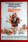 007 JAMES BOND OCTOPUSSY ROGER MOORE 1987 RARE EXYU MOVIE POSTER