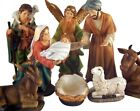 Holy Family 8 Piece Nativity Set 6 Inch Statues with Detachable Infant Jesus