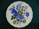 Spode Blue Flowers S3369 Large Round 12 7/8