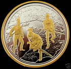 Canada 2012 War of 1812 1 oz Pure .9999 Silver and 24k Gold Commemorative Dollar