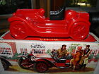 NEW IN BOX  1914 STUTZ BEARCAT  RED GLASS CAR WITH BLACK TOP  NICE GIFT!