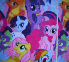 New  ** My Little Pony ** Friends ** Hasbro ** large print FLEECE fabric  - bty