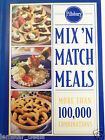 Pillsbury Mix 'N Match Meals Cookbook Hardcover Spiral 1996 Easy Meal Planning
