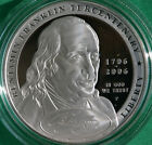 2006 Ben Franklin Founding Father Proof Silver Dollar US Mint COIN ONLY