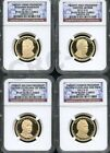 2012 S PRESIDENTIAL DOLLAR SET NGC PF69 ULTRA CAMEO