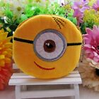 1PCS Kids Party Cartoon Gifts White Minions Coin Change Purse Wallet  B