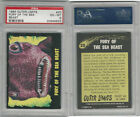 1964 Bubbles Inc, Outer Limits, #20 Fury of the Sea Beast, PSA 6 EXMT