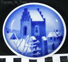 Beautiful Landsby Kirketarn Denmark Miniature Butter Pat Plate (FF)