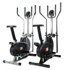PRO CROSS TRAINER 2 in 1 EXERCISE BIKE CARDIO FITNESS WORKOUT MACHINE