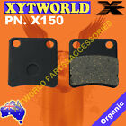 Parking Park Brake Pads for Honda SW-T 400 FJS 400 2009-2013