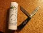 2007 Great Eastern Cutlery USA Tidioute 73 River Valley Green Trapper Knife