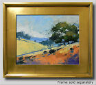 JOSE TRUJILLO PLEIN AIR CALIFORNIA IMPRESSIONISM OIL PAINTING HILLS LANDCAPE