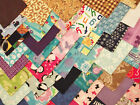 100 Quilting Soft Snuggle Flannel Squares Quilt Leftover Stash Scrappy Quilter