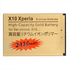 Gold High Capacity Sony Ericsson BST-41 Battery 2430mAh Xperia X1 X2 Play X10