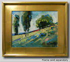 JOSE TRUJILLO PLEIN AIR CALIFORNIA IMPRESSIONIST OIL PAINTING LANDSCAPE HILL