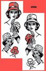 Vintage 1940s Millinery MAIL ORDER HAT FEDORA Fabric Sewing Sew Pattern 22