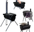 Portable Military Camping Hiking Hunting Ice Fishing Cook Wood Stove Tent Heater