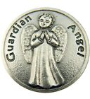 Religious Gift Cherub Baby My Guardian Angel Loves Me Pocket Token Keepsake Coin