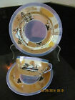 Vintage PRE-WAR Collectible Japanese Teacup, Saucer and Cake Plate