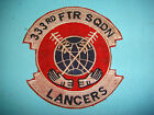 VIETNAM WAR PATCH US 333rd TACTICAL FIGHTER SQUADRON