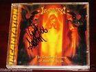 Incantation: The Forsaken Mourning Of Angelic Anguish CD 1997 Repulse RPS Signed