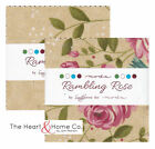 Rambling Rose by Sandy Gervais Moda 2 Mini Candy Charm Pack 2.5