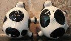 New Boston Warehouse Set Salt and Pepper Shakers Kitchen Cow Country Home Decor