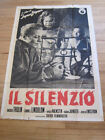 SILENCE Ingmar Bergman Ingrid Thulin Original 1964 Italian large Movie poster