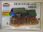 MODEL POWER HO OLD STORAGE SHED & SIGNAL BRIDGE KIT train ho building MPW 435