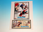 ELEKTRA Marvel Comics USPS 1st First Day Of Issue Stamp Matted With Art FDC New