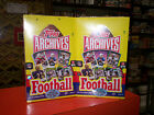 2013 Topps ARCHIVES FOOTBALL Hobby Box Lot of 2 Boxes 4 Autos