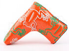 Frog Orange Putter Cover for Taylormade Titleist Odyssey Scotty Cameron Mizuno