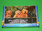 New 500 pc Jigsaw Puzzle Puzzlebug Gift Golden Welcome Wagon Puppies