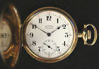 G Vintage Illinois Central Pocket Watch 14K Gold 17 Jewels 1919 17j Watch