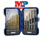 Draper 18551 15 Piece Combined HSS and Masonry Drill Bit Set