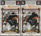 2013 Topps Museum Collection Football Sealed Hobby Mini Box Pack - 2 Pack Lot